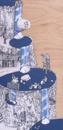 Medium_fit_brian_spolans_waterfalls_2012_11x23_acrylic_pen_and_pencil_on_panel