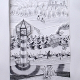 Thumb_brian_spolans_isolation_tower_2010_17.5x26.5_pencil_on_paper