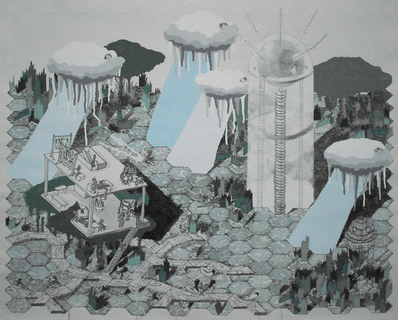 Medium_fit_brian_spolans_swampland_2009_watercolor__acrylic__pencil_and_pen_on_paper